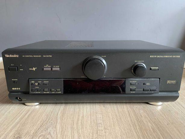 Zestaw kina domowego Technics SA-DX750 z głośnikami oraz subwooferem