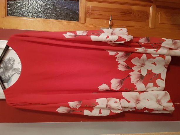 Sukienka z zorzetki