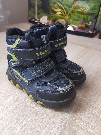 Buty dla chłopca 24 na jesień zimę membraną tex wodoodporne śniegowce