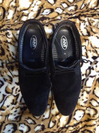 Туфли замшевые,мужские.