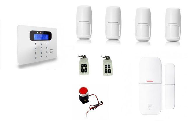 Alarm bezprzewodowy SATLINK SL-GSM30AC