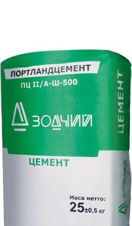 Цемент с доставкой ЗОДЧИЙ марка 500 .