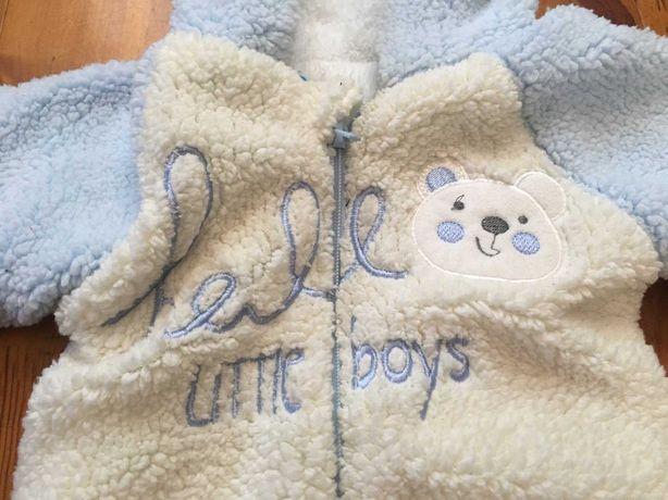 Бодики теплые для малыша 0-3 месяца 3 шт разных