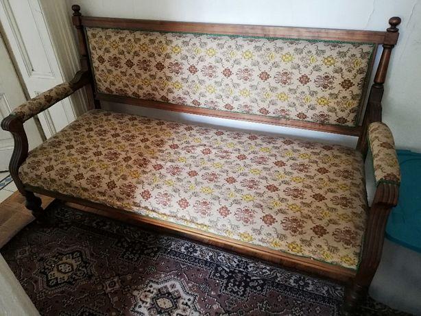 Sofa i dwa fotele w stylu Ludwikowskim do renowacji