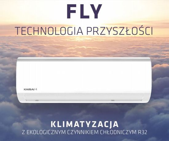 KLIMATYZATOR KAISAI FLY 3.5 kW Z MONTAŻEM ! klimatyzacja montaż serwis