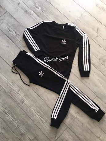 Dres zestaw damski bluza spodnie Adidas s m l xl xxl  Premium