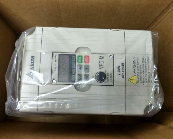 Частотный преобразователь 2,2кВт (частотник Delta VFD022M243) Инвертор