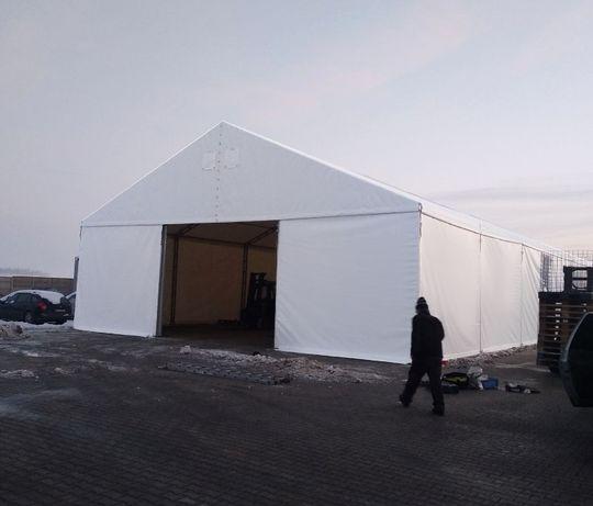 12x20 HALA namiotowa CAŁOROCZNA magazynowa STALOWA namiot MAGAZYN