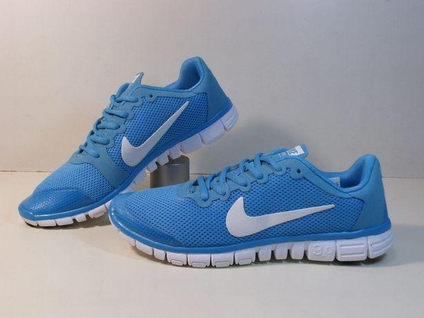 Кросівки NIKE FREE 3.0 Світло сині. Кроссовки.