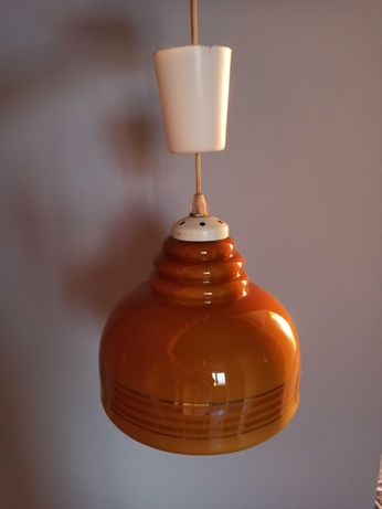 Lampa wisząca prl