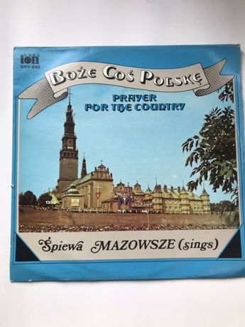 Boże Coś Polskę winyl vinyl Mazowsze