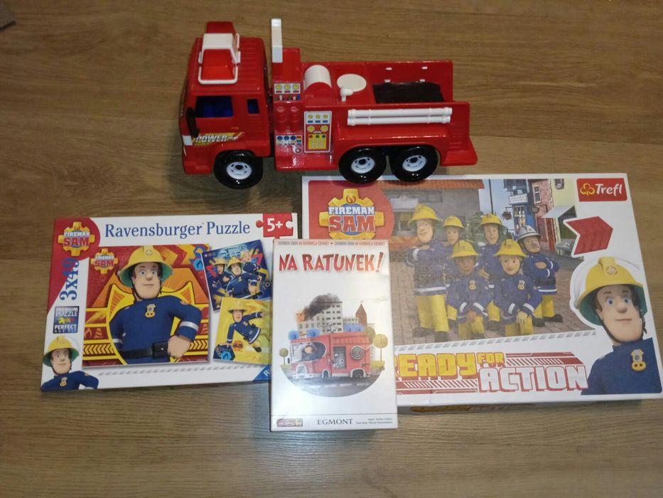 Strażak sam puzzle gra trefl Gra na ratunek samochód straży pożarnej g Bledzew - image 1