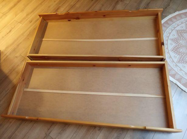2 szuflady podłóżkowe na pościel 146x61x15