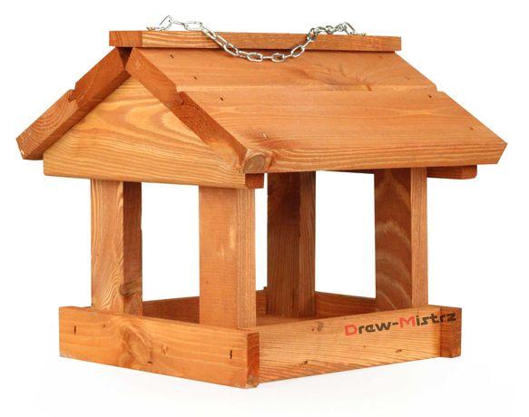 Karmnik dla ptaków drewniany Budka Domek KR-4