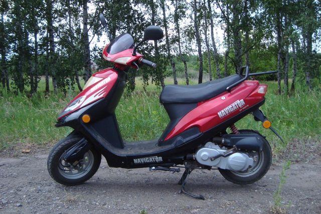 Продам скутер Navigator EX 50QT-B
