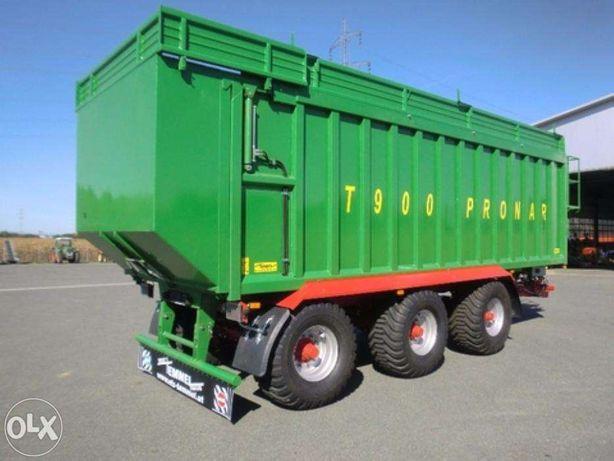 Przyczepa z przesuwaną ścianą T900 - 23,5 tony / 36,5 m3 - PRONAR
