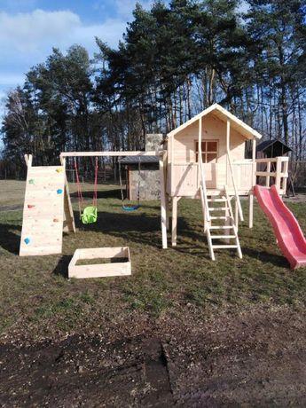 Plac zabaw dla dzieci,Domki,huśtawka. Dostępny ,,Od ręki,,