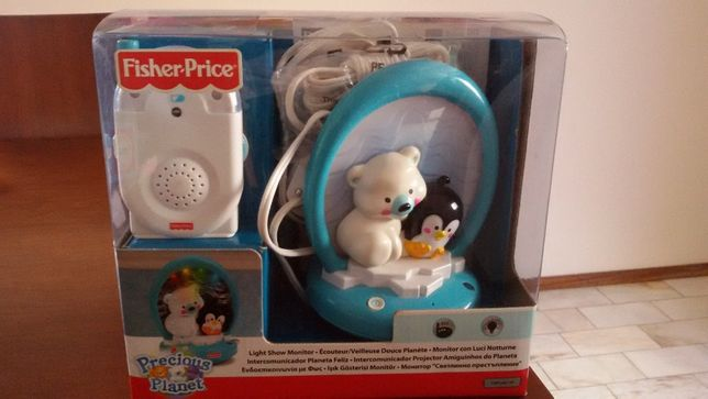 Intercomunicador projetor Amiguinhos do Planeta Fisher Price