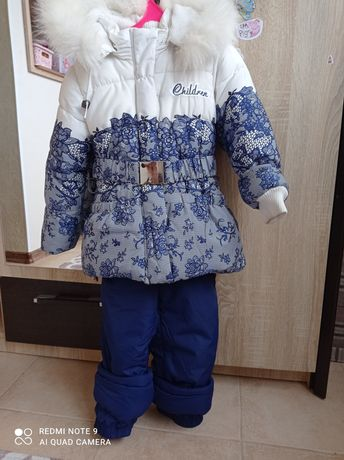Зимний костюм комбинезон  р.104