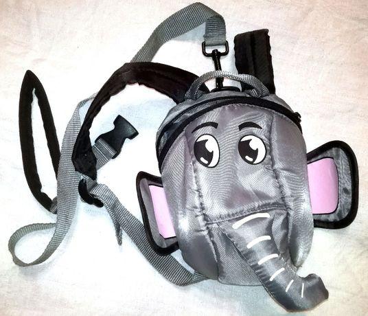 Дитячий рюкзак не LittleLife  слонік (детский слоненок)