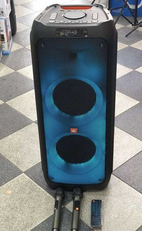 Колонка аккумуляторная ZXX-5510 partybox c радиомикрофонами 300W