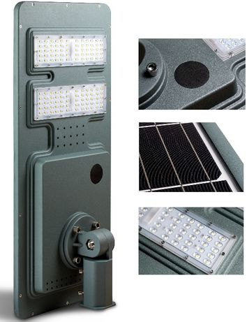 Lampa Solarna SL 120 Największa Monokrystaliczna Gwar 3 Lata !