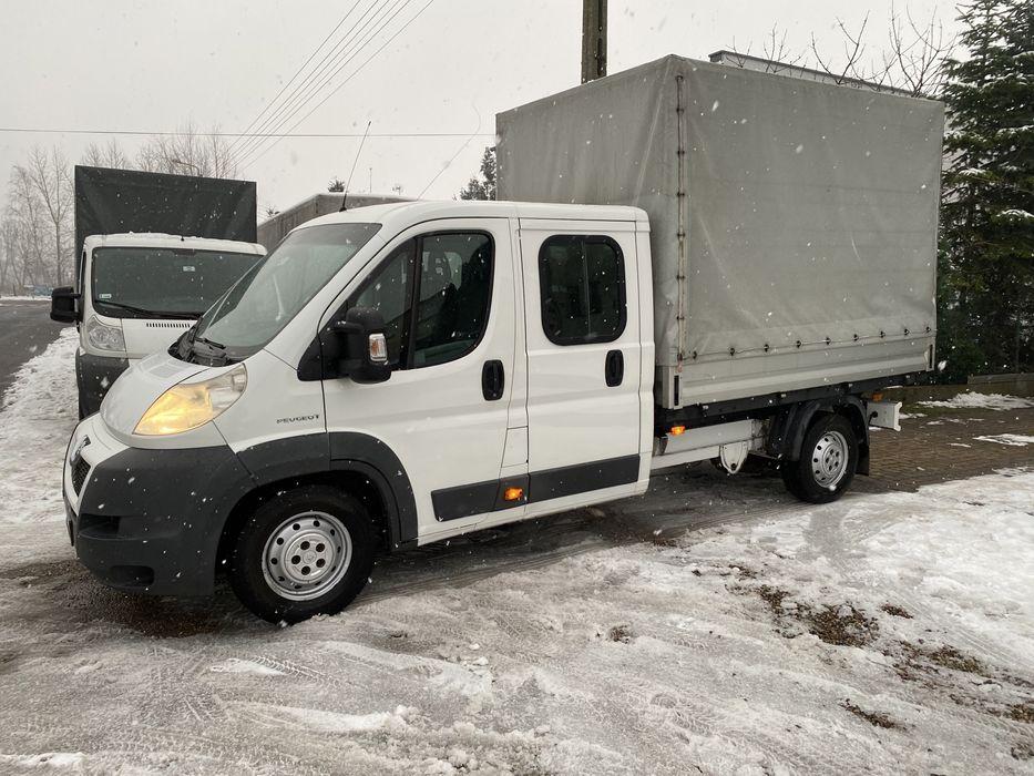 Peugeot Boxer 3.0 HDI Doka 158 ps plandeka Sępólno Krajeńskie - image 1