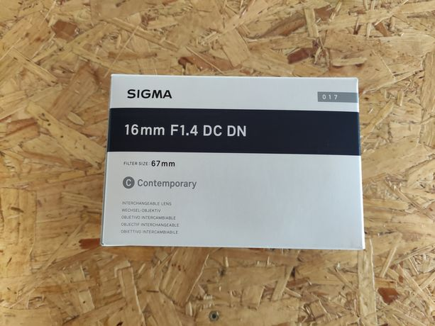 Lente Sigma 16mm F1.4 DC DN