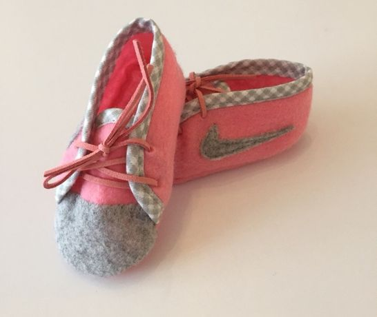 Nike buty dziecięce kapcie niechodki prezent chrzest roczek narodziny