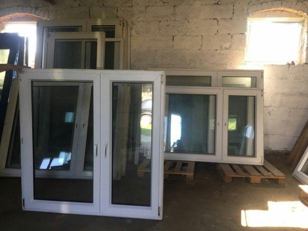 Okna PCV używane