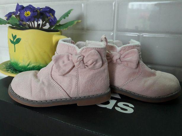 Супер ботинки, демисезонные, сапожки, сапоги, розовые, для девочки, 23
