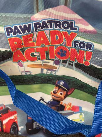 Saco de crianca patrulha pater  novo