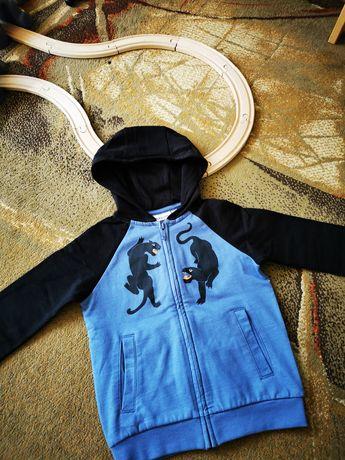 Kappahl 104 śliczna bluza z kapturem dla chłopca