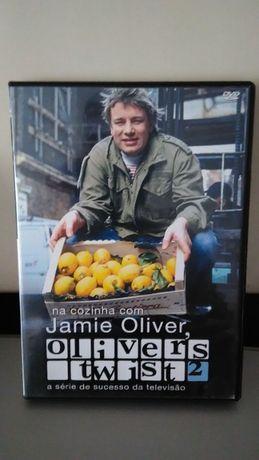 DVD Na Cozinha Com Jamie Oliver Twist 2 série de TV Legendas PORTUGUÊS