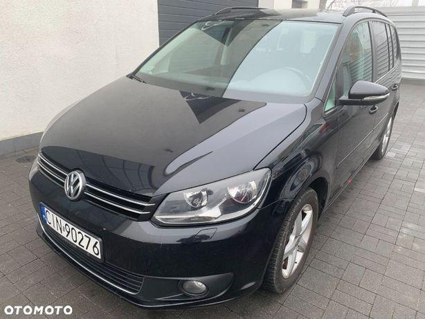 Volkswagen Touran 2.0 TDI 140 KM. Nawigacja Kamera Faktura VAT