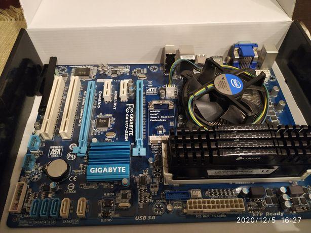 RAM Corsair Vengeance DDR3 Płyta główna Gigabyte GA-H77-D