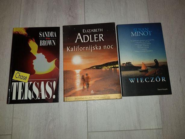 Książki 3 sztuki