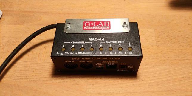G-LAB Midi Amp Controller MAC-4.4 kontroler midi