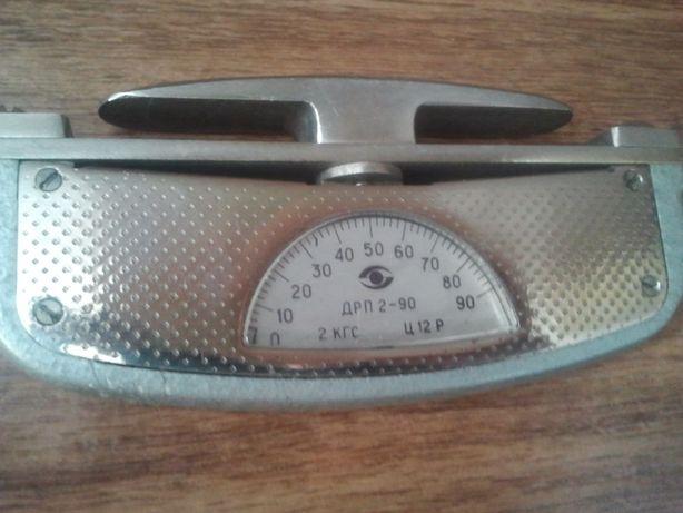Силомер кистевой до 90 кг.