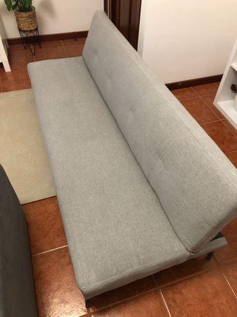 Sofá-cama da sklum como novo