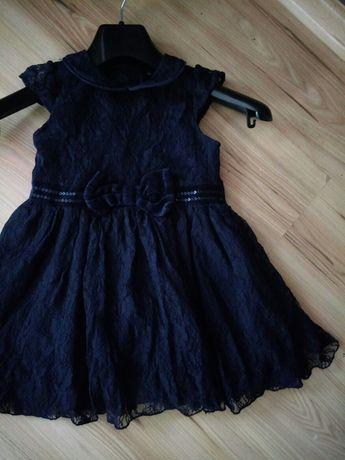 Sukienka George3-4 korinkowa-elegancka