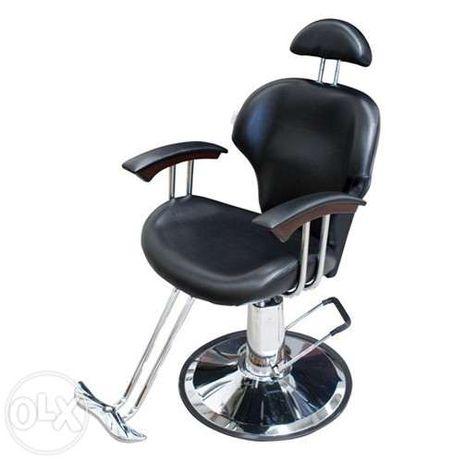 Cadeira de Barbeiro e Maquilhagem NOVAS \ PORTE GRÁTIS***