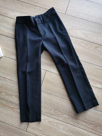 Eleganckie spodnie Next r. 110 + Gratis koszula
