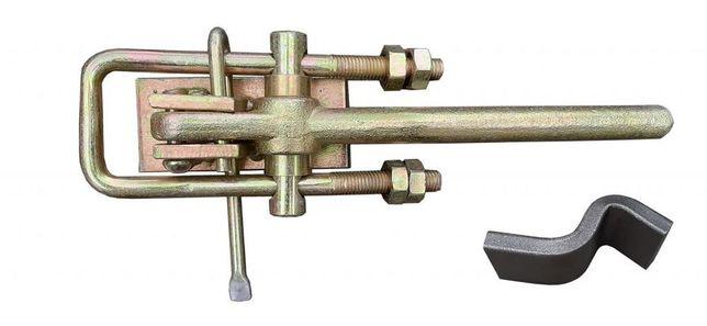 Spinacz burty do przyczep D35 D732 D47 D50 - LEWY + MOCOWANIE