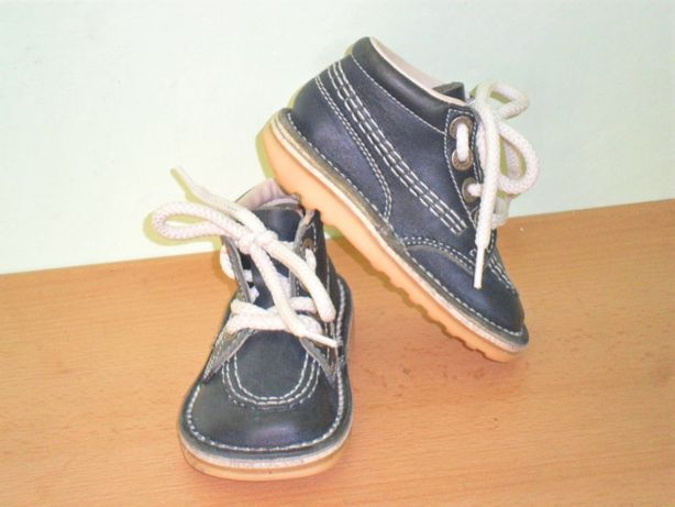 Ботинки кожа Kic Kers р 21 Франция