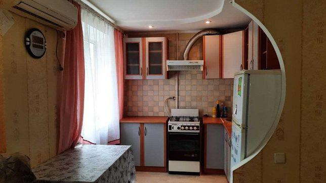 Продам 1 ком квартиру Алмазный 3/5бл 32м студия ремонт мебель техника
