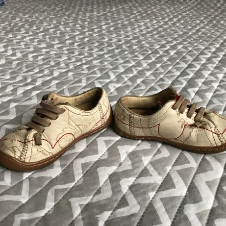 Okazja! Kultowe buciki buty pantofle Camper Peu skóra rozmiar 23