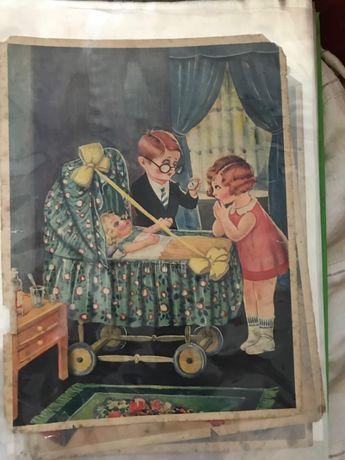 Estampas profissões e traição (anos 50)