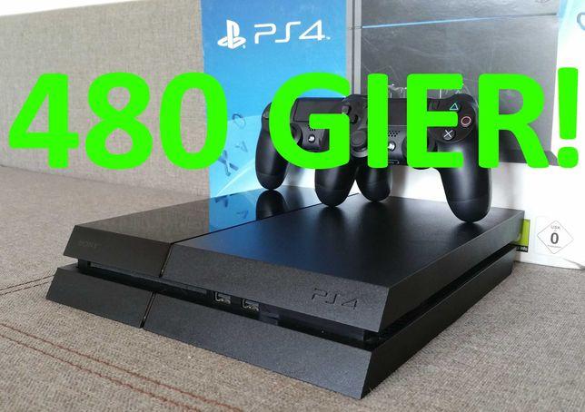 480 GIER!!! FIFA21! FORTNITE! Minecraft PRO 3! konsola PS4 PlayStation
