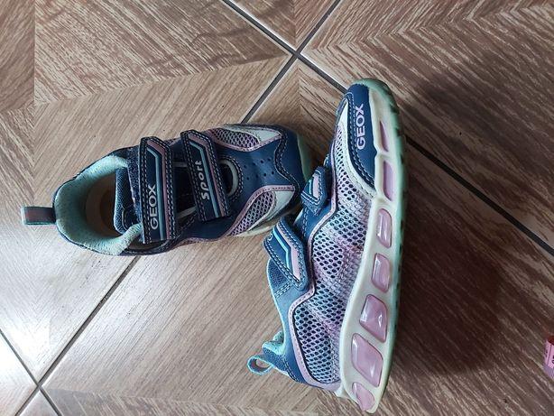 Adidasy geox świecące 25 sneakersy